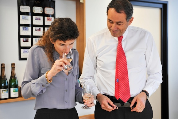 Champagne producers Alice and Bruno Paillard