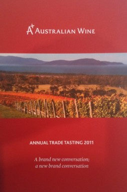 Wine Tasting - the 2011 A+ booklet