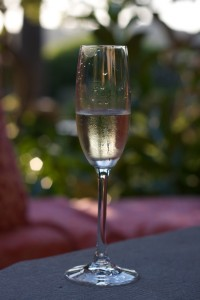 Wine - A glass of cava
