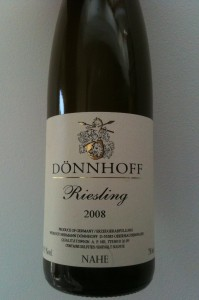 Donnhoff Riesling 2008
