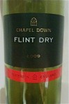 wine - Chapel Down Flint Dry 2009