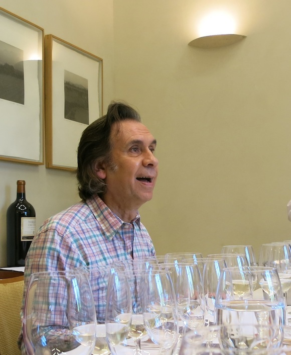 Concha Y Toro winemaker Ignacio Recabarren