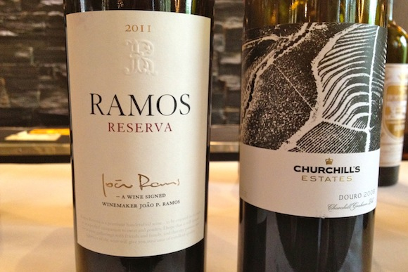 Ramos Reserva 2011 and Churchill's Estate 2008