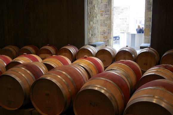 Barrel Room at Boxwood Winery, VA