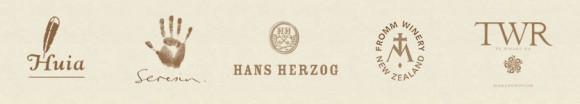 Logos of the MANA member wineries
