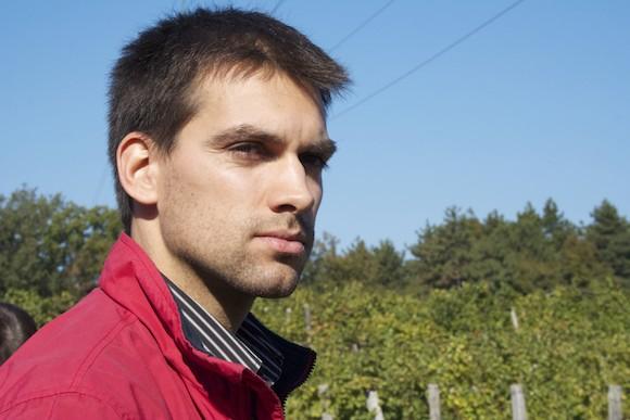 Goran Kante, from the Kante winery in Carso, Friuli, Italy