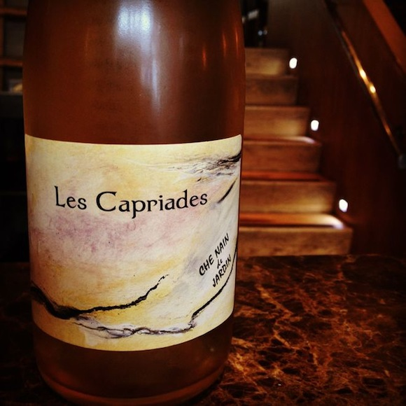 Pet Nat Les Capriades, wine, stocked at Charlotte's Bistrot W4