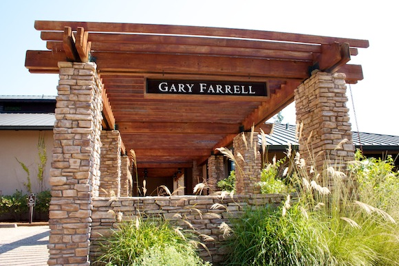 Exterior shot of Gary Farrell , Russian River Valley, Sonoma