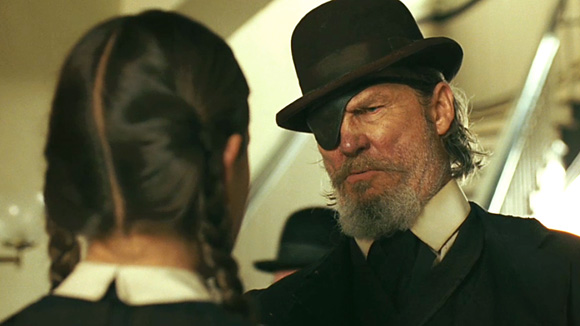 Jeff Bridges in The Coen Brothers remake of True Grit