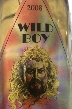 wine - Wild Boy Chardonnay 2008
