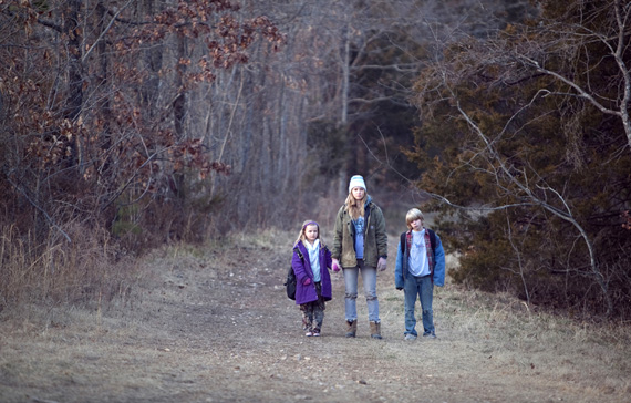 Scene from the film Winter's Bone
