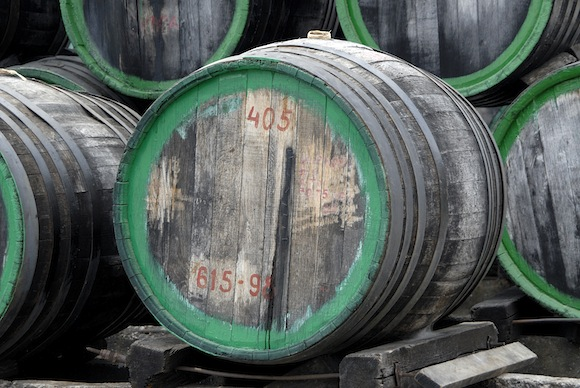Barrels for Madeira wine