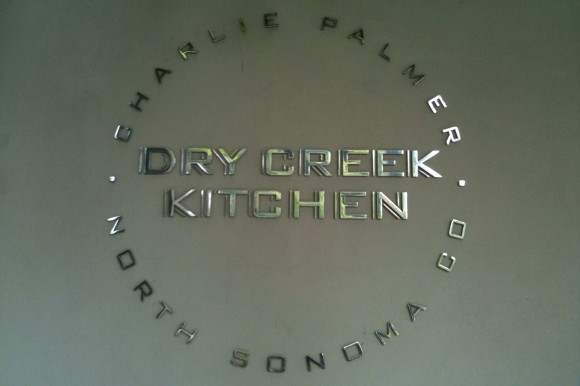 Dry Creek Kitchen sign, Healdsburg, sonoma