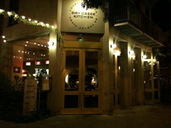 Dry Creek Kitchen, Healdsburg, Sonoma