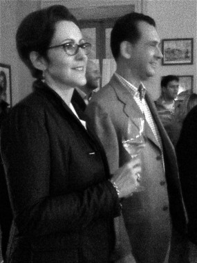 Siblings Lucia and Giulio Barzano of Il Mosnel in Franciacorta