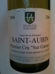 """Wine - Francois D'Allaines Saint-Aubin Premier Crus """"Sur Gammay"""" 2006"""