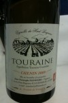 A Loire white wine, Touraine Chenin Blanc