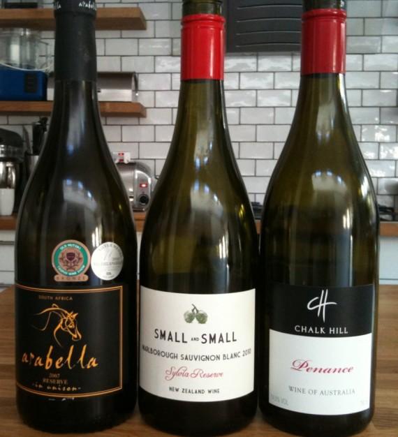 Arabella in Unison, Sylvia Sauvignon Blanc, Penance wine