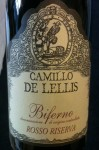Italian red wine, Biferno Rosso Riserva