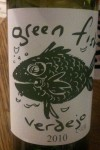 Green Fish Verdejo wine from Spain and stocked at Oddbins