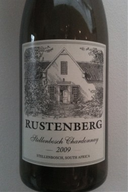 Wine Rustenberg Chardonnay 2009 from Stellenbosch, South Africa