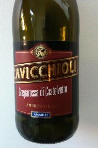 Cavicchioli Grasparossa Lambrusco