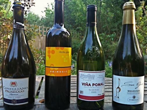 Wine Reivew: Prosecco, Ribolla Gialla, Rioja, Moscato D'Asti